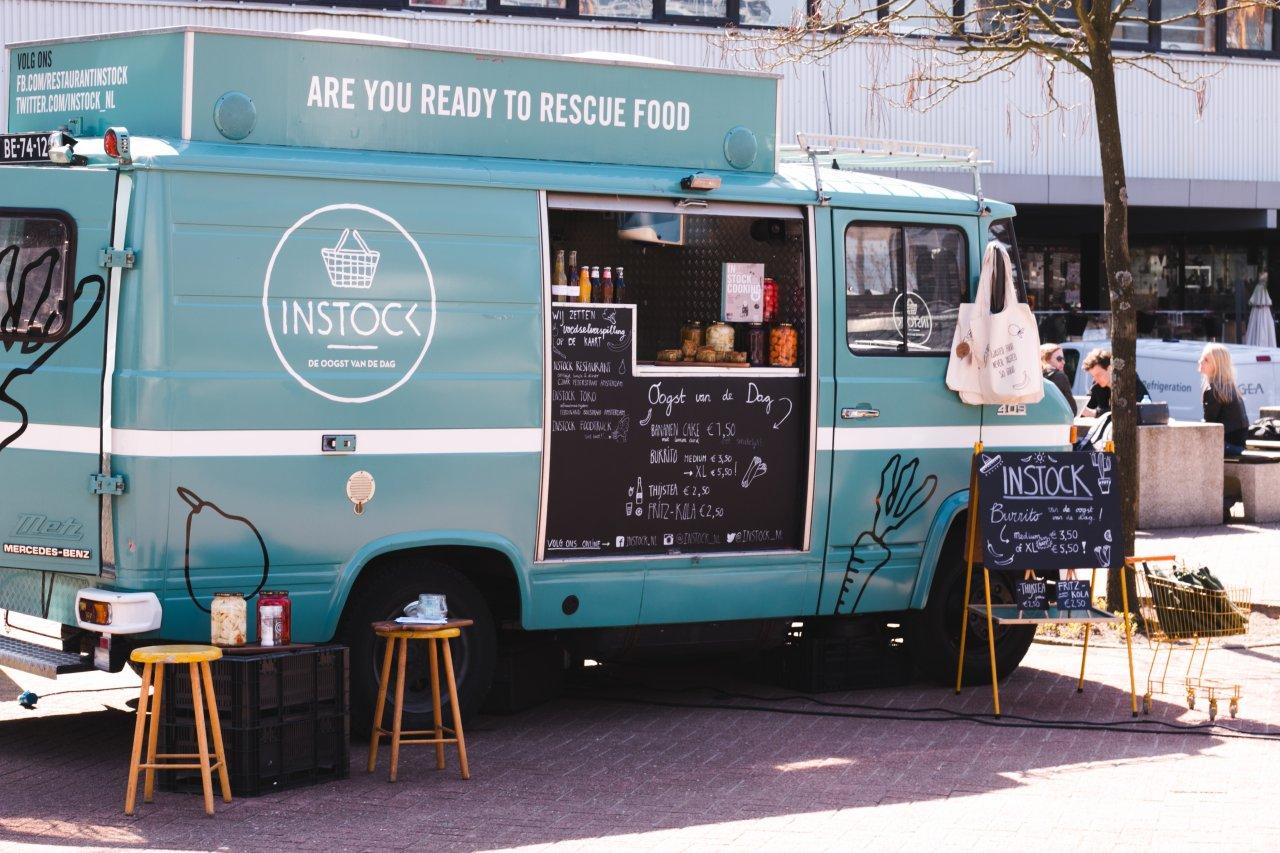 food truck catering van instock. Black Bedroom Furniture Sets. Home Design Ideas