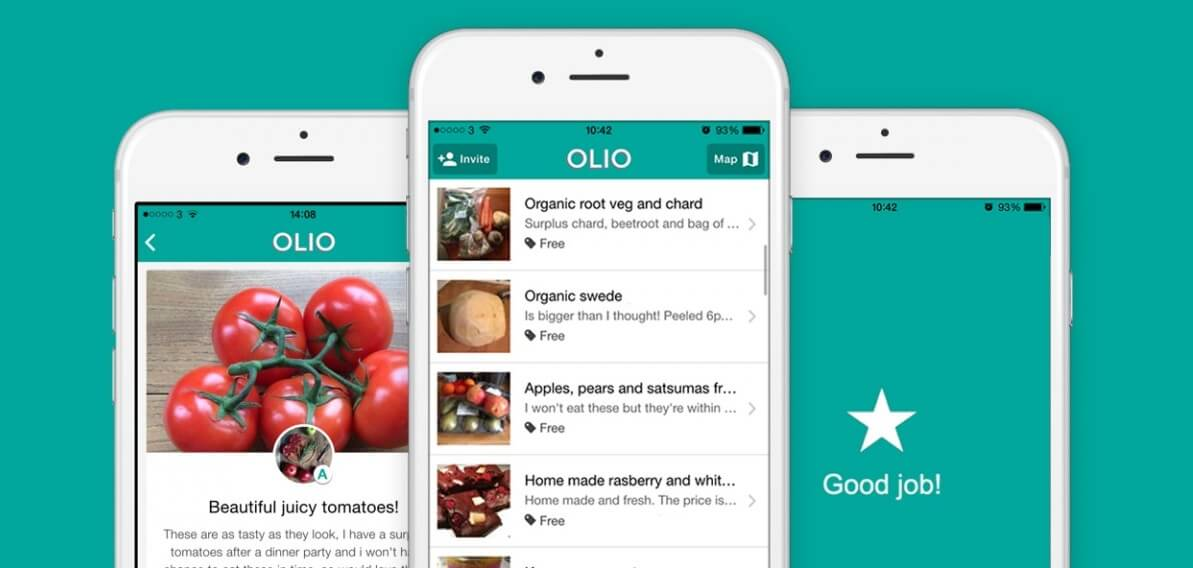 apps tegen voedselverspilling