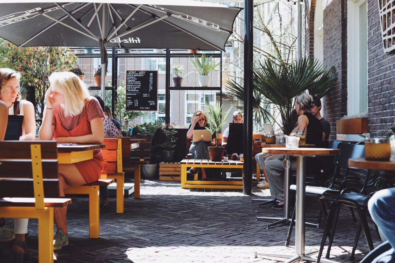 lekkerste terras Amsterdam