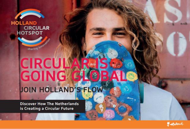 Circular is Going Globval is de nieuwe editie van het Holland Circular Hotspot magazine