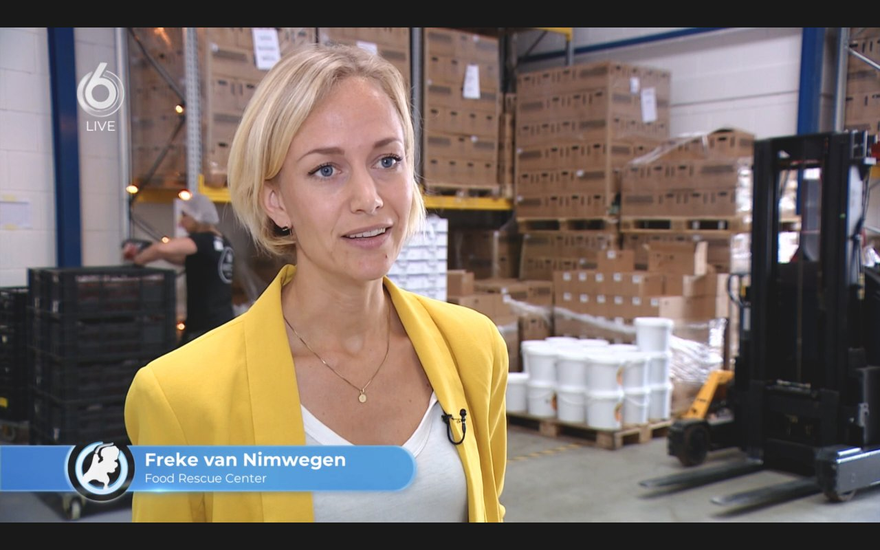 Freke van Nimwegen vertelt over InstockMarket.nl in de uitzending van Hart van Nederland