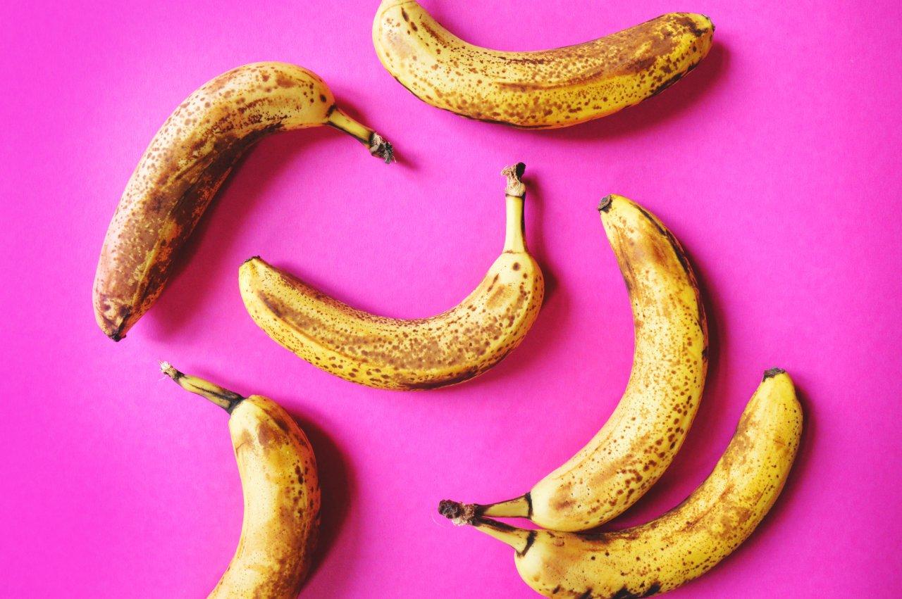 Foto rijpe bananen